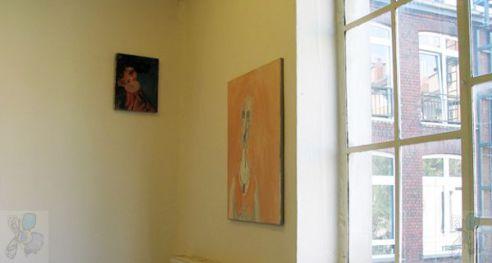 Ausstellungsansicht - Galerie S.L.C